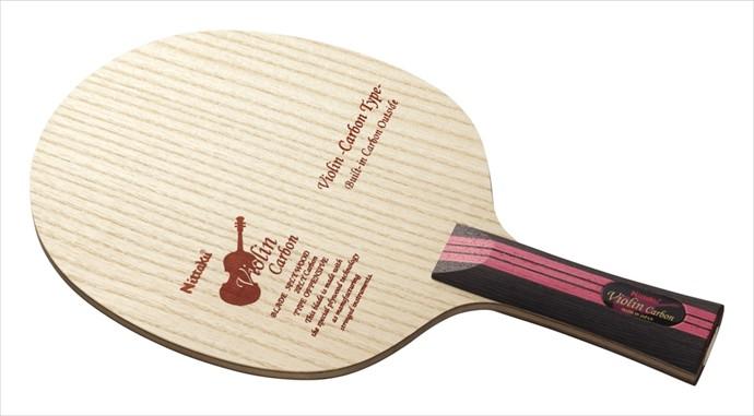 《送料無料》Nittaku (ニッタク) 日本卓球 バイオリンカーボン FL NC-0432 1801 卓球 ラケット