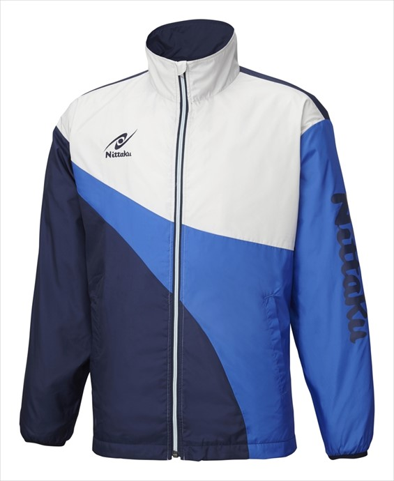 Nittaku (ニッタク) 日本卓球 ライトウォーマーSPRシャツ ブルー NW-2848 1801 メンズ 紳士 男性