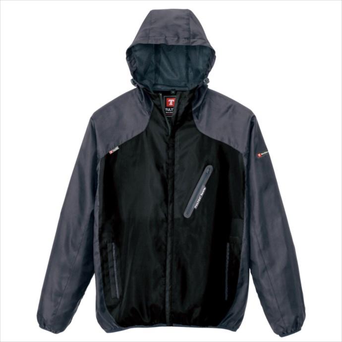 TULTEX (タルテックス) フードインジャケット AZ-10302 110 1802  撥水 防風 裏メッシュ 作業服 作業着 ワークユニフォーム