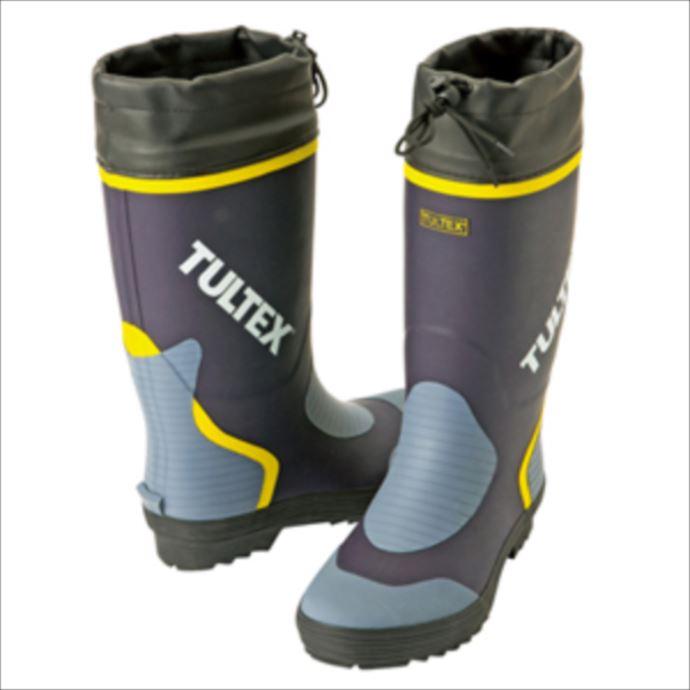 ■TULTEXのシューズ TULTEX 2020 新作 タルテックス カラー長靴 ネイビーxライトグレー 1807 ユニフォーム トラスト 作業靴 AZ-4707