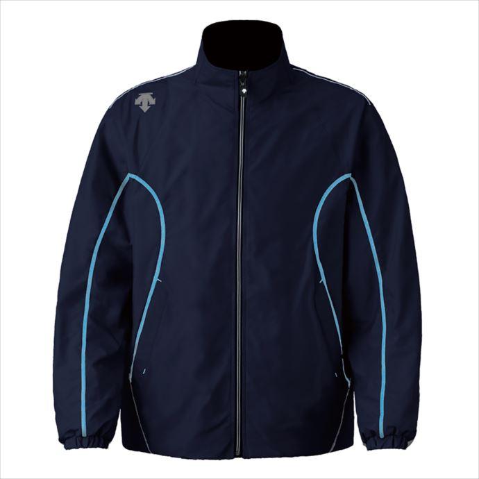 《送料無料》DESCENTE (デサント) エクスプラスサーモジャケット Uネイビー×ブルー DTM-3912 1810 メンズ マルチトレーニング ウェア
