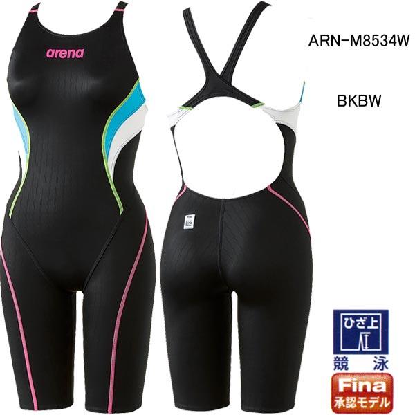 アリーナ(ARENA)女性用 競泳水着 X-PYTHON2 ウィメンズハーフスパッツ ARN-M8534W
