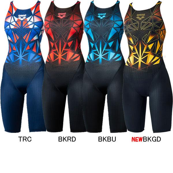 FINA承認 2021年秋冬 NEWカラー 15%OFF アリーナ ARENA 最新 競泳水着 FAR-0540W ウィメンズハーフスパッツ 女性用 BISHAMON 春の新作続々 X-PYTHON2