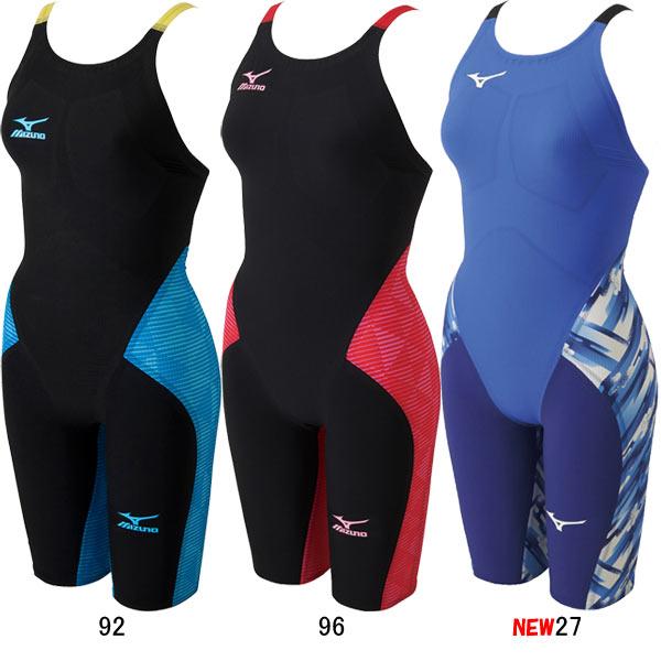 【30%OFF】ミズノ(MIZUNO)女性用 競泳水着 GX-SONIC III MR ウイメンズハーフスーツ N2MG6202