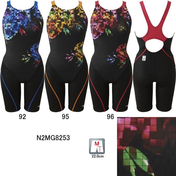 ミズノ(MIZUNO)女性用 競泳水着 ストリームアクティバ ウイメンズハーフスーツ(オープン)N2MG8253