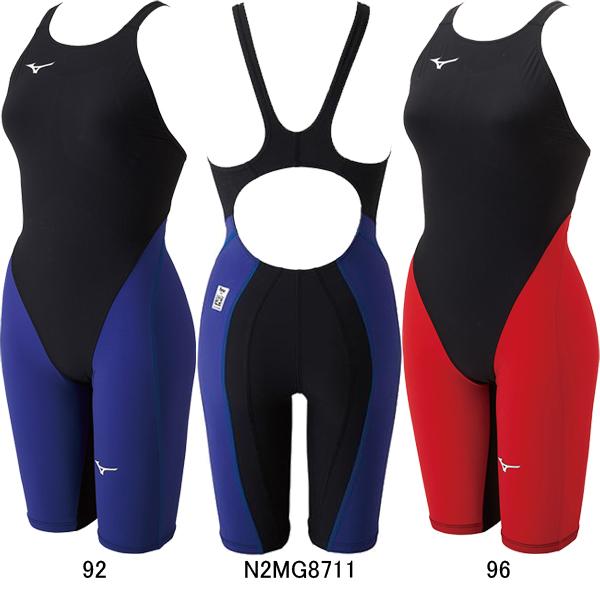 【5/15当店ポイント最大33倍!】【34%OFF】ミズノ(MIZUNO)女性用 競泳水着 MX-SONIC G3 ウイメンズハーフスーツ N2MG8711