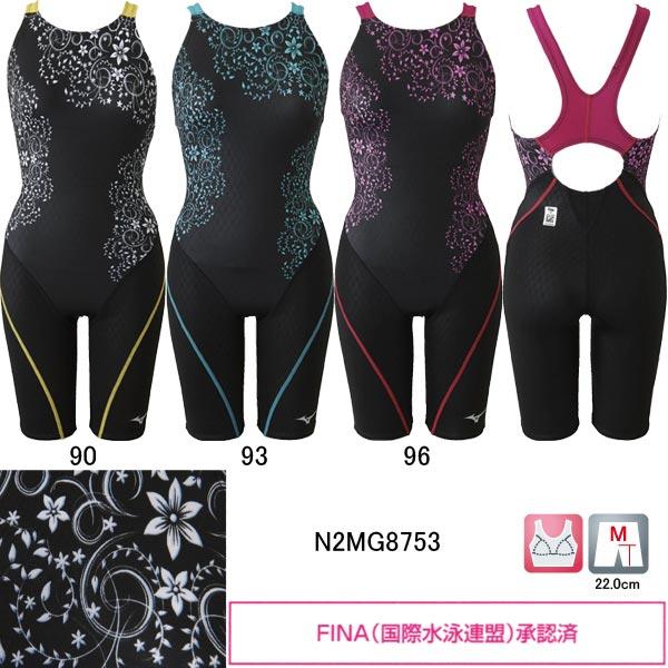 ミズノ(MIZUNO)女性用 競泳水着 寺川綾コレクション ストリームアクティバ ウイメンズハーフスーツ N2MG8753