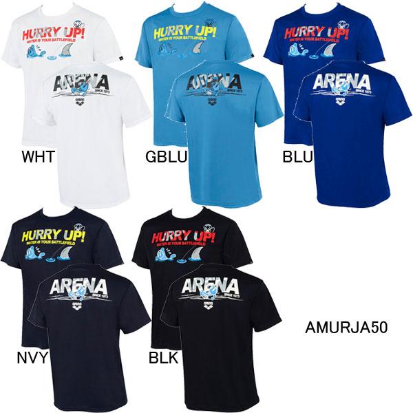 2021年秋冬 NEWモデル 12%OFF アリーナ マーケット メンズTシャツ 爆安 アリーナくん ARENA AMURJA50