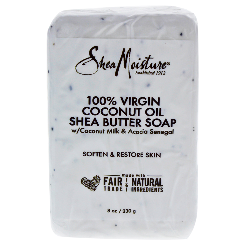 Amount of Shea Moisture 100% Virgin Coconut Oil Shea Butter Soap 8oz Shea  moisture 100% virgin coconut oil shea butter soap soap beauty soap solid