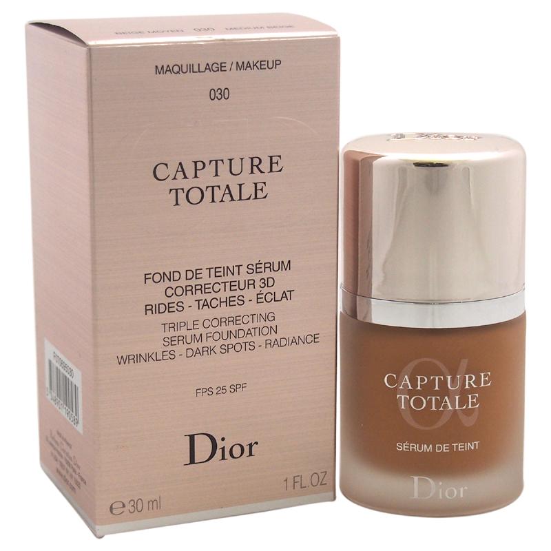【正規品】【送料無料】Christian DiorCapture Totale Triple Correcting Serum Foundation SPF 25 - # 030 Medium Beige1ozカプチュールトータルトリプル訂正セラムファンデーションSPF 25 - #030ミディアムベージュ【海外直送】