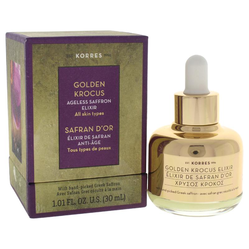 【正規品】【送料無料】KorresGolden Krocus Ageless Saffron Elixir1.01ozゴールデンKrocusエイジレスサフランエリクサー【海外直送】