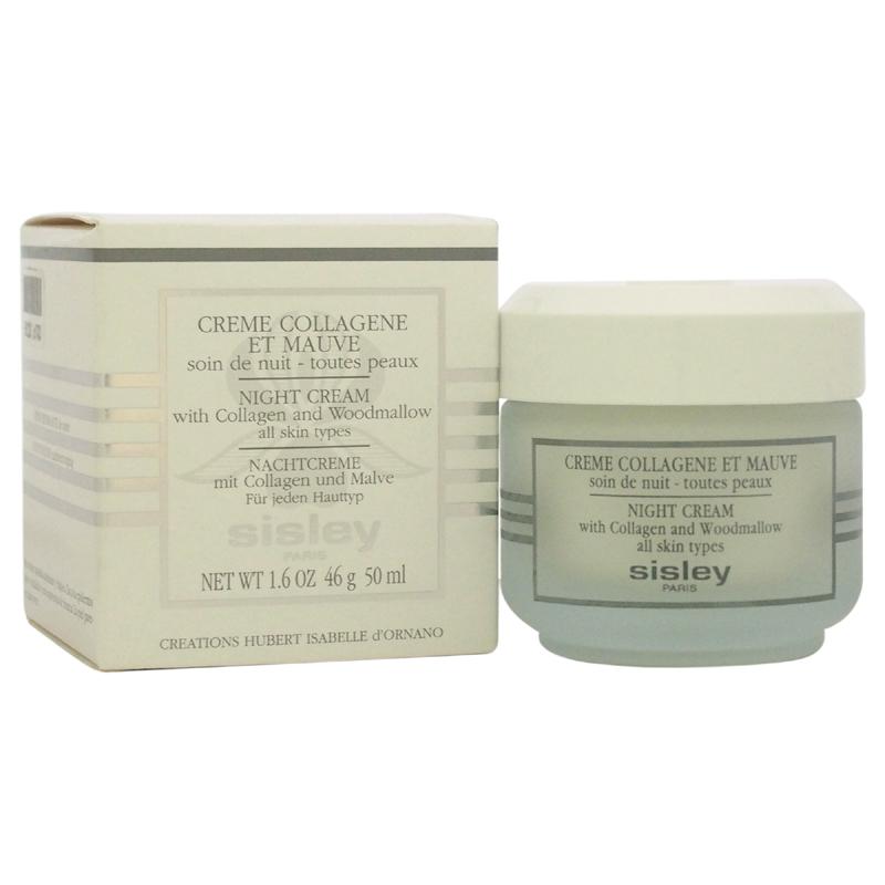 【正規品】【送料無料】SisleyNight Cream with Collagen & Woodmallow1.6ozコラーゲン&Woodmallowとナイトクリーム【海外直送】