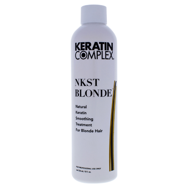 Natural Keratin Smoothing Treatment For Blonde Hair