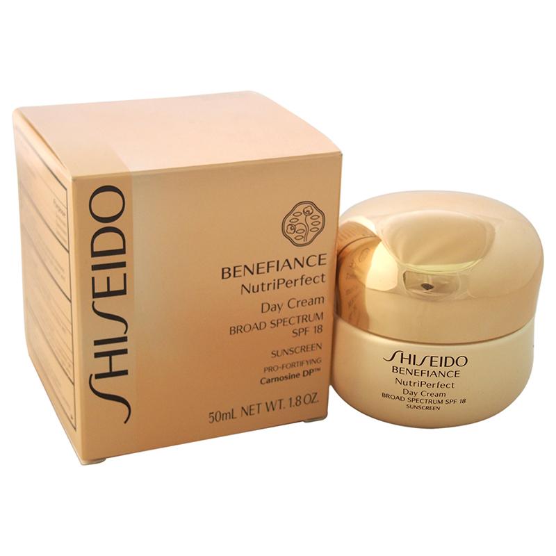 【正規品】【送料無料】【Shiseido】Benefiance NutriPerfect Day Cream SPF 181.8ozベネフィアンスNutriPerfectデイクリームSPF 18【海外直送】