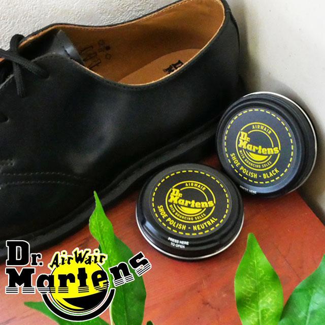 【あす楽】ドクターマーチン Dr.martens ポリッシュ POLISH NEUTRAL CHERRY BLACK ケアクリーム チェリー ブラック ニュートラル クリーム ブーツ シューケア 磨き用品  /-
