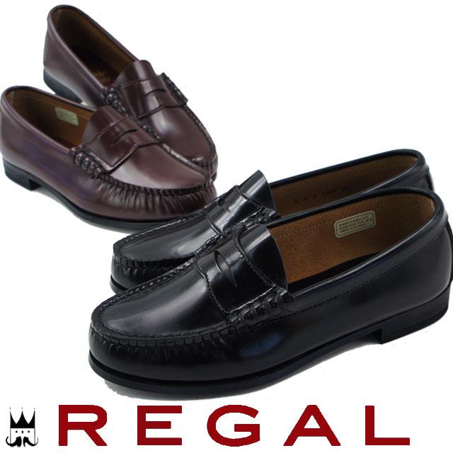 【送料無料】(一部地域除く) 25.5cm~26cm REGAL FH14 ACEB 靴 ローファー リーガル レディース ローファー BLACK(ブラック) BROWN(ブラウン) 3E evid