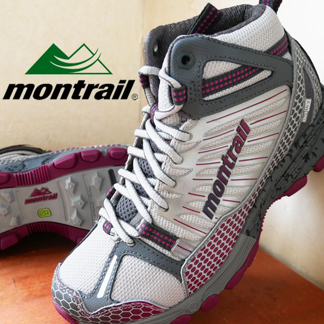 cb2438197fdb3 Mon trail bad lock mid out dry GL2129 montrail BADROCK MID OUTDRY Lady's  men trekking shoes 323 (deep turquoise voltage) 063 (grill berry soda) ...