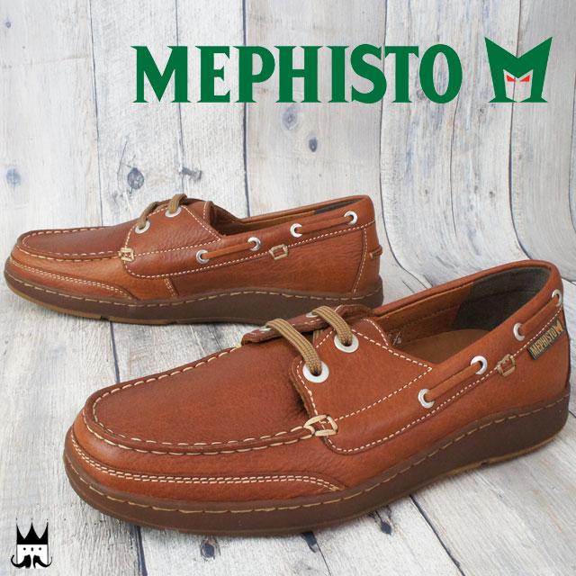 291f3ef745 It is メフィスト MEPHISTO men casual shoes zebra ZEBRA walking shoes deck shoes  genuine leather ab ...