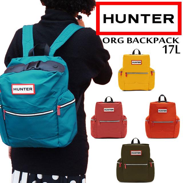 【送料無料】 ハンター HUNTER レディース メンズ BAG UBB5017ACD UBB6017ACD オリジナル ナイロン バックパック バッグ 17L evid