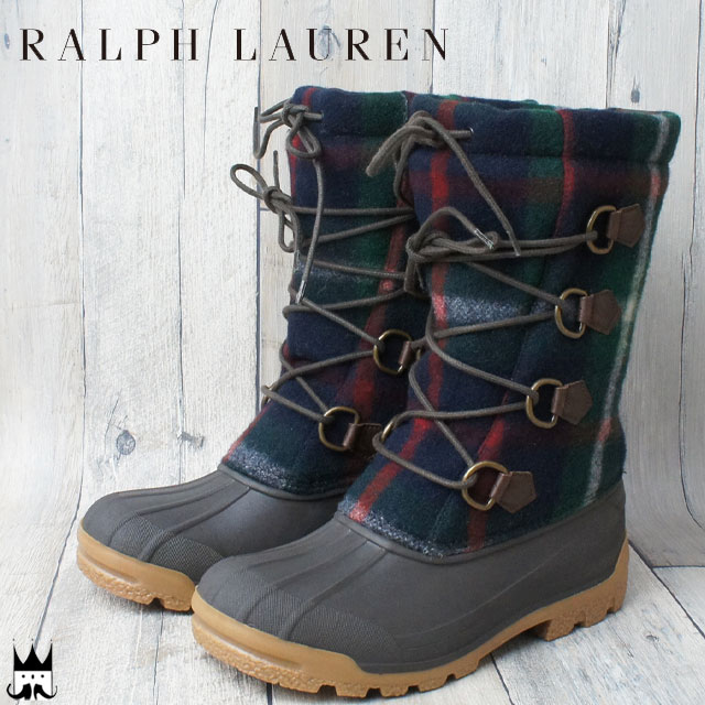 1 Dbrdark Boot Nansen Ab BrownBblackWool Lauren Men Snow C R355 Ralph Boots Polo Casual PZXukiO