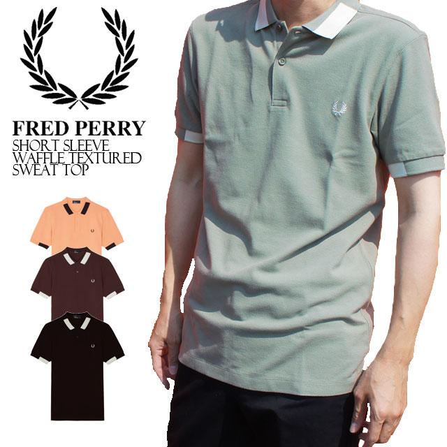 【あす楽】フレッドペリー FRED PERRY ポロシャツ メンズ 送料無料 POLOシャツ カジュアル 半袖 トップス フレペ BLACK ジャカードカラーブロック M4525 evid