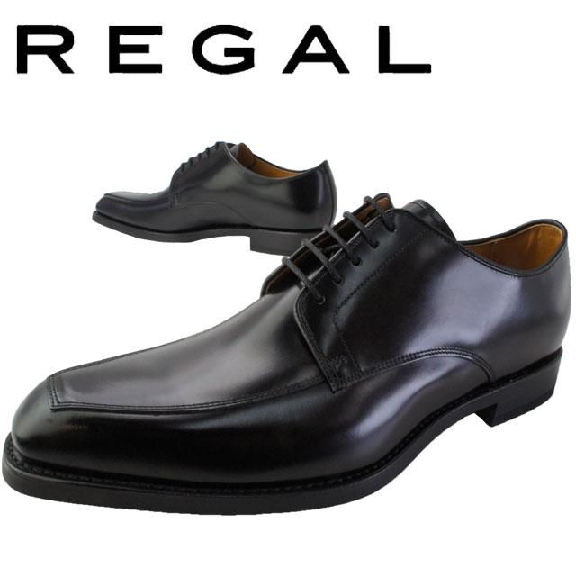 【あす楽】リーガル 靴 メンズ REGAL ビジネスシューズ 【送料無料】 46RR 革靴 紳士靴 日本製 メイドインジャパン フォーマル スワールトゥ ブラック