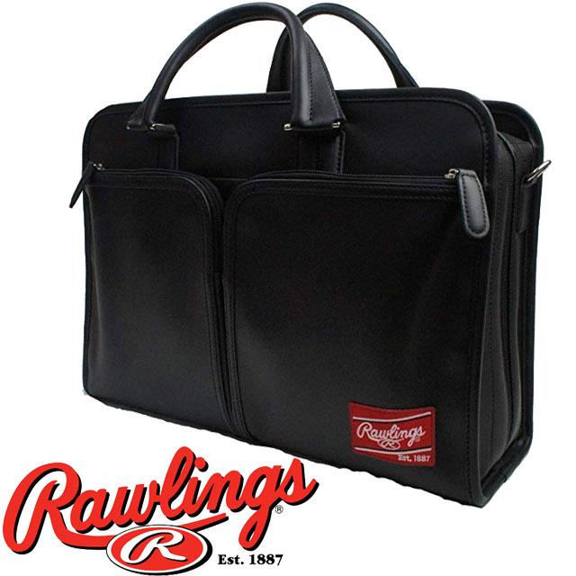 【あす楽】【送料無料】(一部地域除く)ローリングス Rawlings メンズ バッグ HOHBCB LEATHER GOODS ブリーフケース カジュアル ビジネスマン ベースボール evid ab-c