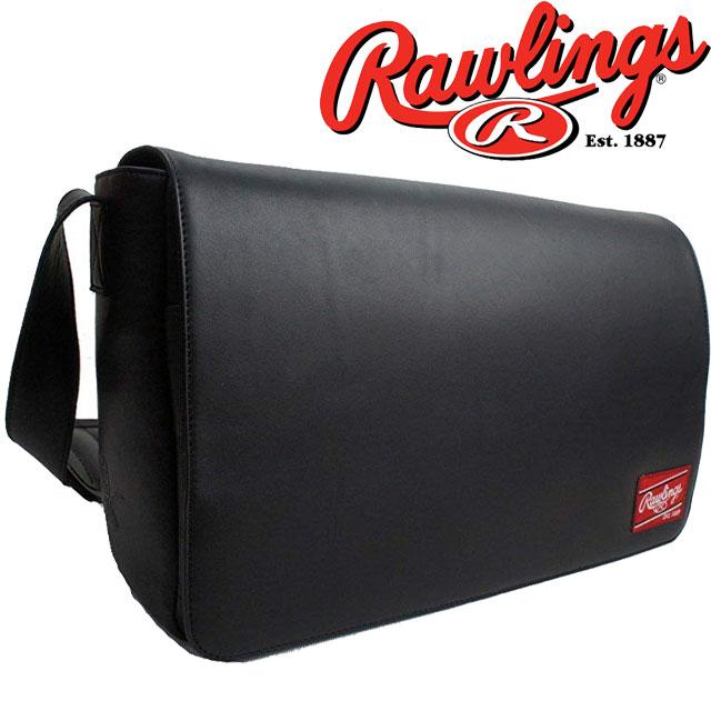【あす楽】【送料無料】ローリングス Rawlings メンズ バッグ HOHMESB LEATHER GOODS メッセンジャー カジュアル ビジネスマン ベースボール evid qq1