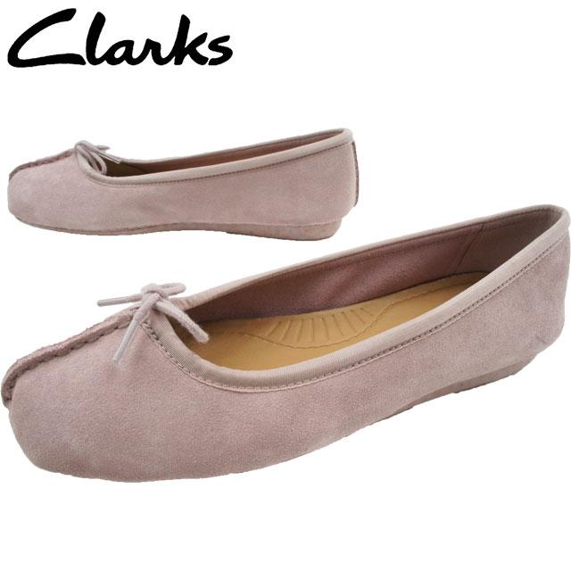 【あす楽】クラークス Clarks フラットシューズ リボン 本革 レザー レザー レディース Freckle 213F evid Freckle Ice フレックルアイス ぺたんこ靴 歩きやすい バレエシューズ ピンク evid, Jeans&Casual Noah:f287f1f0 --- 2chmatome2.site