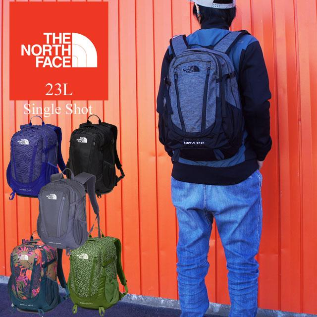 【あす楽】ザ・ノースフェイス THE NORTH FACE シングルショット バッグ メンズ レディース 【送料無料】(一部地域除く) NM71903 23L バッグ リュック デイバッグ バックパック 通勤 通学 evid /-