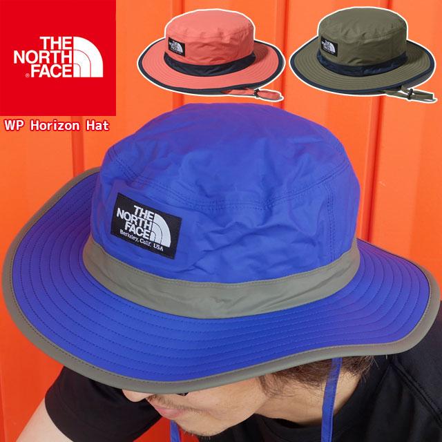 【あす楽】ザ・ノースフェイス THE NORTH FACE 帽子 メンズ レディース NN01909 ウォータープルーフホライズンハット ウォータープルーフモデル ぼうし キャップ アウトドア 日よけ あご紐 メッシュ アパレル 防水透湿 AB NL SC evid
