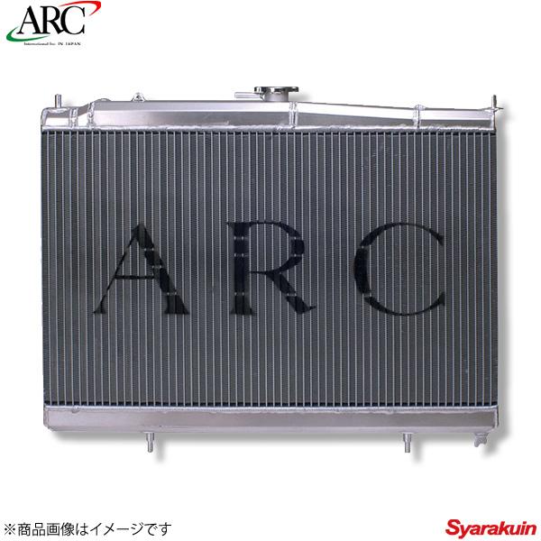 ARC Brazing/エーアールシーブレージング ラジエーター アルミ スカイラインGT-R BCNR33 SMC55 55mm 冷却 1N024-AA001