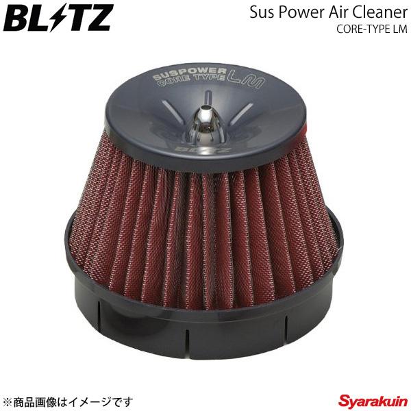 百貨店 59105 エアクリーナー BLITZ ブリッツ ロードスター LM-RED POWER NCEC メーカー再生品 SUS