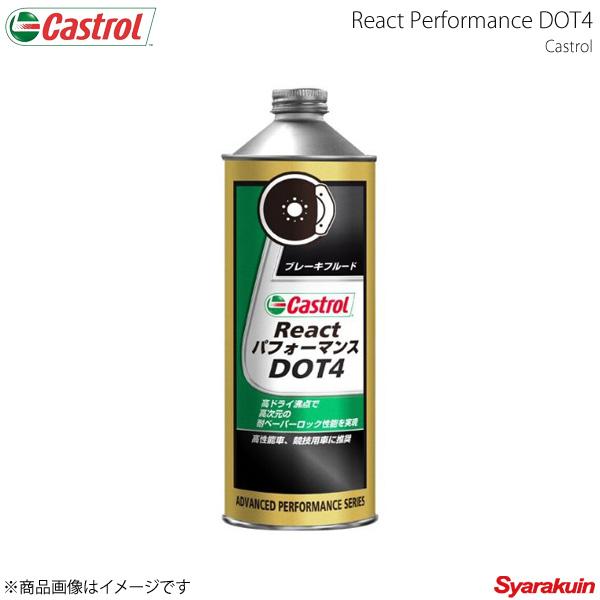 Castrol カストロール ブレーキフルード React パフォーマンス DOT4 0.5L×12本