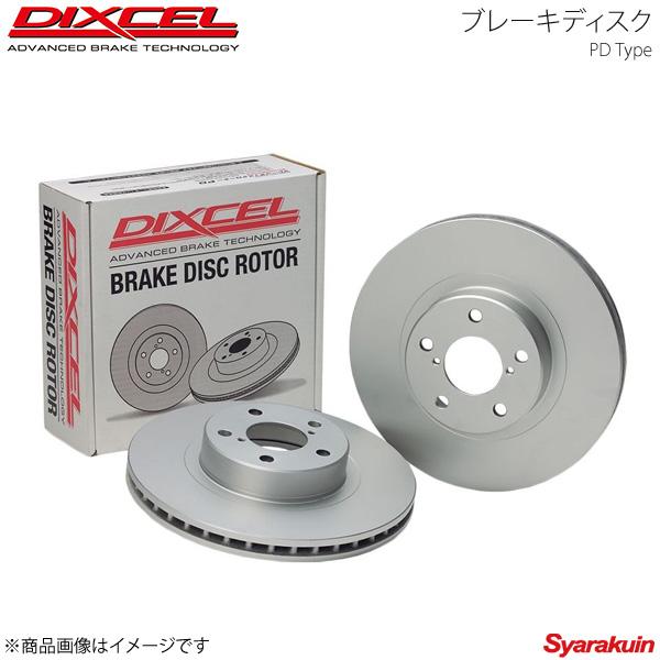 DIXCEL/ディクセル ブレーキディスク PD フロント Mercedes Benz E 320TE/E320 W124(124092) 92~96/6 ワゴン 車台No.F323110~ PD1112772S