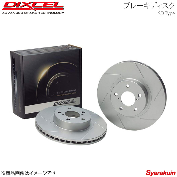 DIXCEL ディクセル ブレーキディスク SDタイプ フロント オデッセイ ABSOLUTE RB1/RB2 03/10~08/10