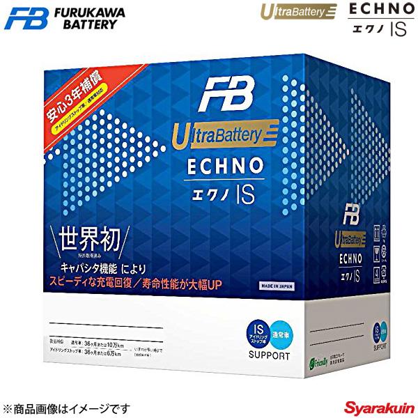 古河バッテリー ECHNO IS UltraBattery/エクノISウルトラバッテリー エブリィ EBD-DA64V 2005- 新車搭載: 38B20L 1個 品番:M-42/B20L 1個:車高調 カー用品専門店 車楽院