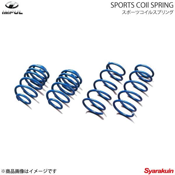 IMPULスポーツコイルスプリング シルフィ G11系 インパル
