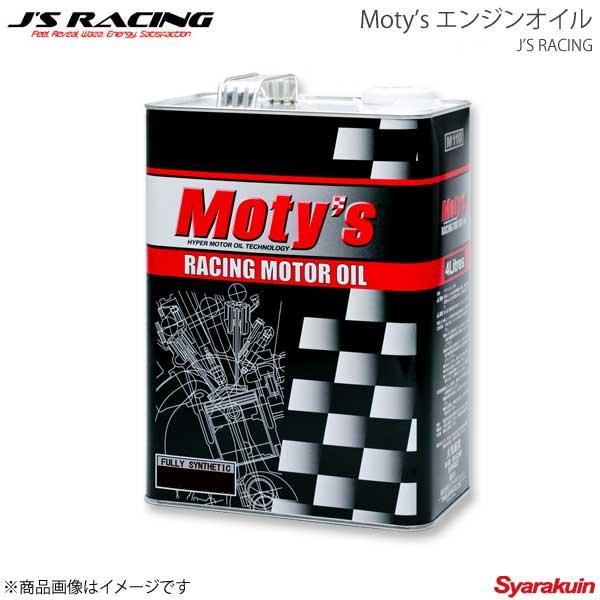 J'S RACING ジェイズレーシング Moty'sエンジンオイルM111 5W-40 4L MOM111-5W40-4L