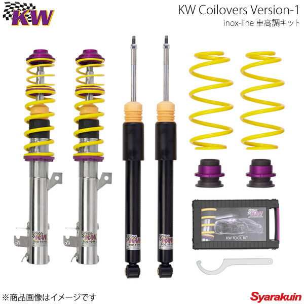 KW カーヴェー Coilovers Version-1 FIAT ABARTH 500/ABARTH 500C 312 08/07y-