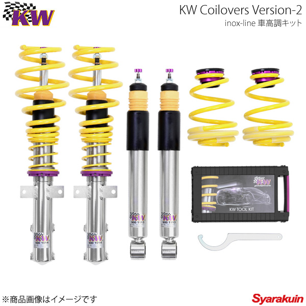 KW カーヴェー Coilovers Version-2 Volkswagen Golf7 AU R ヴァリアント 01/15y-