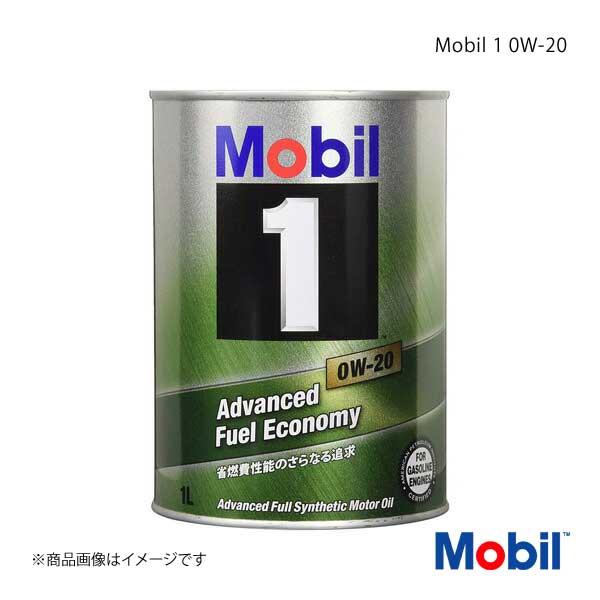 Mobil モービル エンジンオイル Mobil 1 0W-20 1L×12本