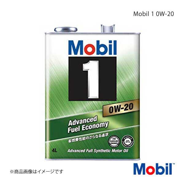 Mobil モービル エンジンオイル Mobil 1 0W-20 4L×6本
