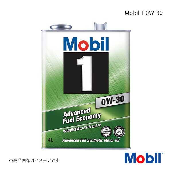 Mobil モービル エンジンオイル Mobil 1 0W-30 4L×6本