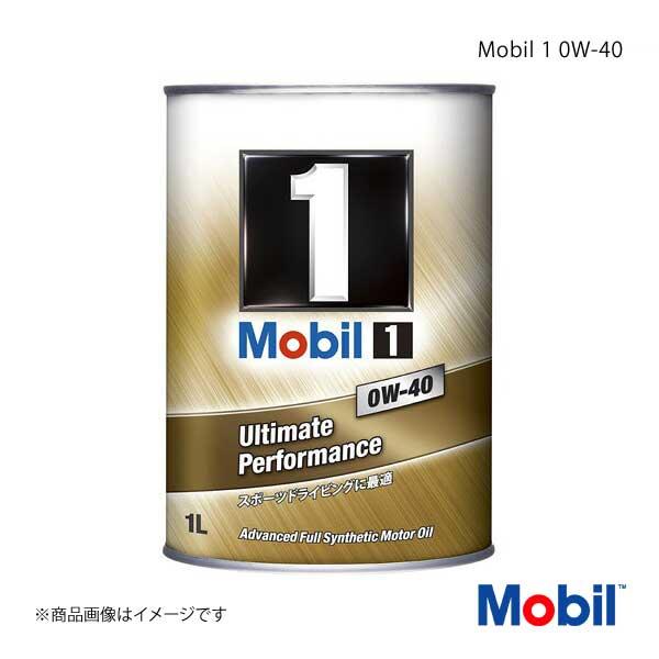 Mobil モービル エンジンオイル Mobil 1 0W-40 1L×12本
