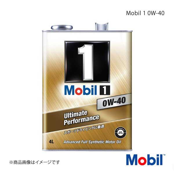 Mobil モービル エンジンオイル Mobil 1 0W-40 4L×6本