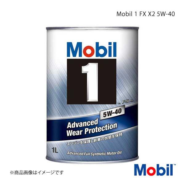Mobil モービル エンジンオイル Mobil 1 FS X2 5W-40 1L×12本
