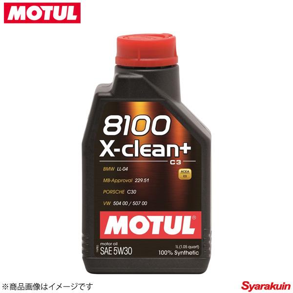106376 ×12 MOTUL/モチュール 4輪エンジンオイル 8100 エクスクリーン プラス 5W30 12×1L ガソリン/ディーゼル車用 スポーツ系