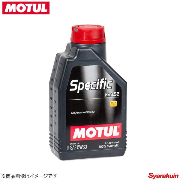 104844 ×12 MOTUL/モチュール 4輪エンジンオイル SPECIFIC 229.52 スペシフィック 229.52 5W30 12×1L ガソリン/ディーゼル車用