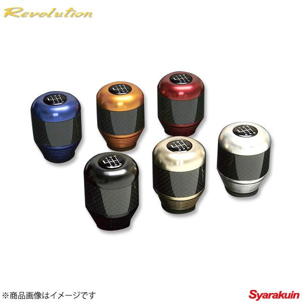 Revolution / レボリューション ドライカーボン シフトノブ(マニュアル車用)レッド 86 ZN6 RZN6DQSK シフトノブ